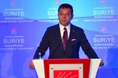 CHP'nin Uluslararası Suriye Konferansı başladı
