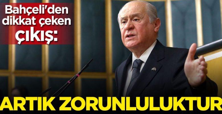 MHP'nin Tek Başına İktidar Olma Zorunluluğu Doğmuştur!