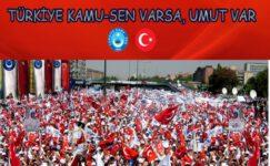 """""""Türkiye Sevdamız Ekmek İçin Kavgamız."""""""