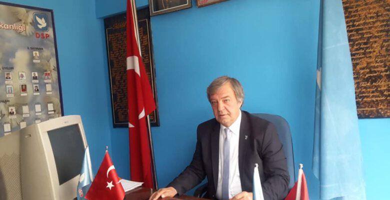 ''Halkımız DSP'yi Yeniden İktidara Taşıyacaktır''