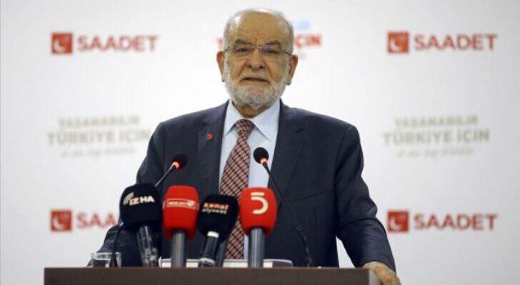 Karamollaoğlu, Saadet Partisinin eğitimle ilgili raporunu paylaştı
