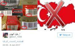 Türk mallarına boykot!