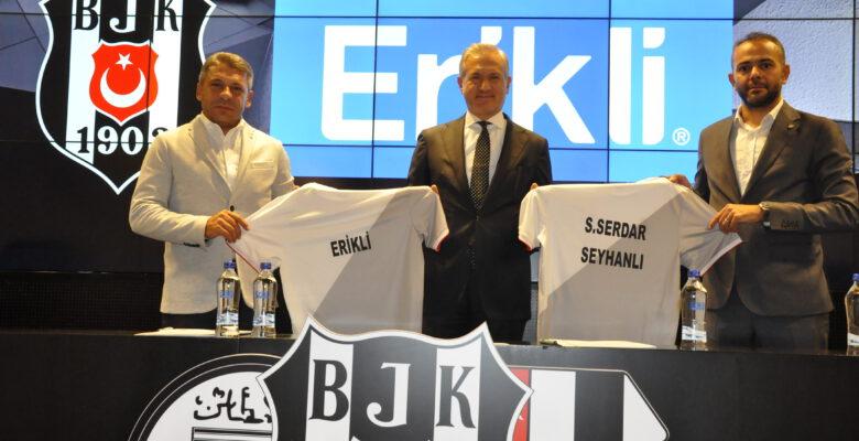 Erikli #bırakmamseni diyerek Beşiktaş JK ile sponsorluk anlaşmasını yeniledi