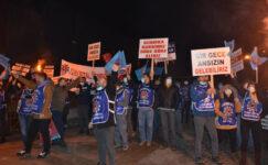 Dev fabrikada işçiler ayaklandı!