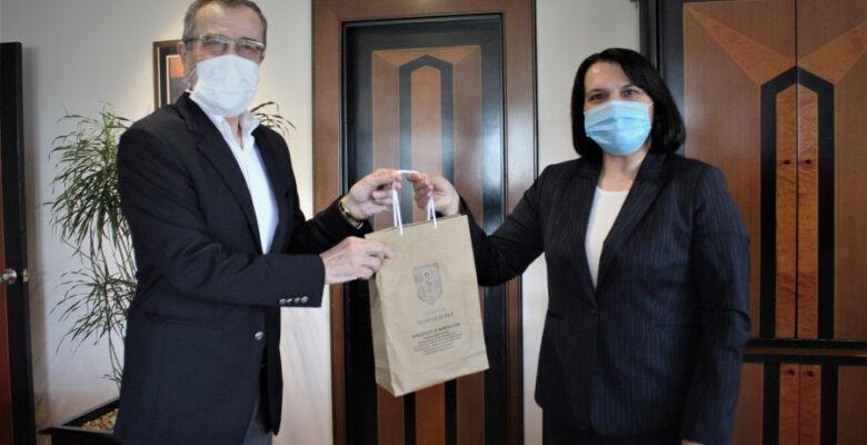 Bulgaristan'daki seçimlerde destek istemek için Bursa'yı geziyorlar