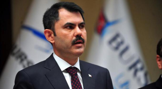 Bakan Kurum'dan Bursa'daki heyelan bölgesi ile ilgili açıklama
