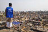 Yangının vurduğu Arkanlılara Türkiye'den Acil Yardım