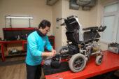 Tekerlekli Sandalye Tamirevi Konak Mahallesi'ne taşındı