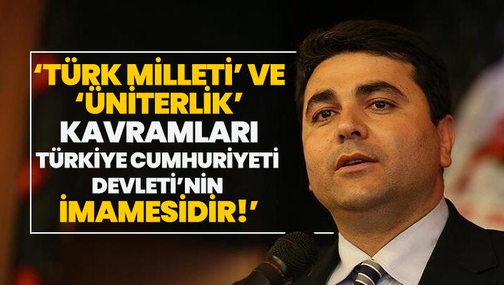 Türk Milleti ve Üniterlik kavramları Türkiye Cumhuriyeti Devleti'nin imamesidir.
