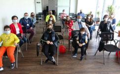 Bursa'da çocukların kaleminden sağlık çalışanları