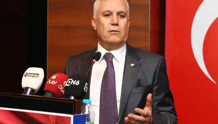 """""""Bursalılar Gerçek Kentsel Dönüşüm İstiyor, Rantsal Bölüşüm Bursa'ya İhanettir!"""""""