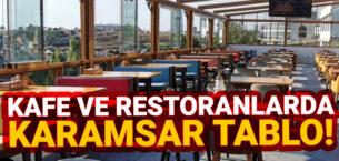 Restoran ve kafelerde iflas etme oranı yüzde 25'e dayandı! 300 bin istihdam kaybı bekleniyor