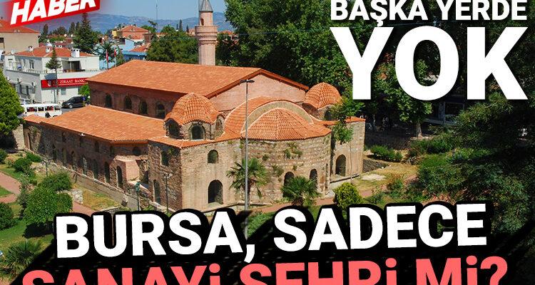 Pandemi gölgesinde turizm! Bursa'nın yerli ve yabancı turist sayısı düştü