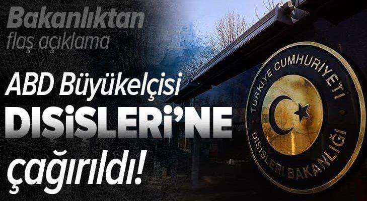 ABD'nin Ankara Büyükelçisi David Satterfield Dışişleri Bakanlığı'na çağrıldı