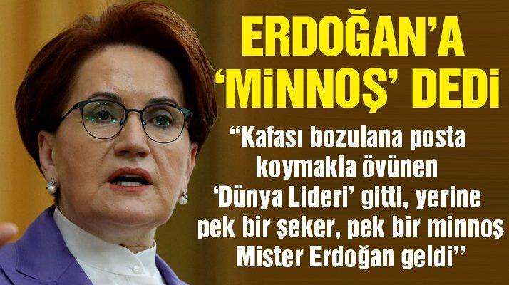 Akşener'den Erdoğan'a çok sert 'Biden' ve arsa tepkisi
