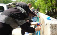Bursa'da kısıtlama öncesi 5 kilometre kaynak suyu kuyruğu