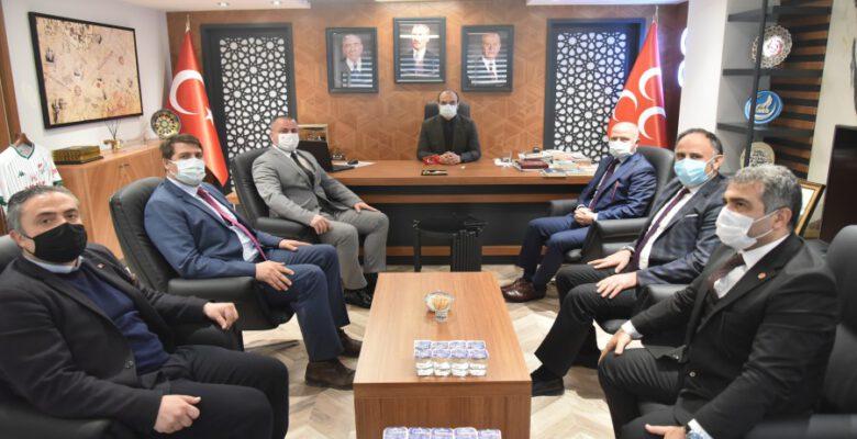 Gürkan'dan MHP ziyareti
