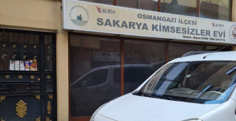 Bursa'da kimsesizler evini depo yaptılar!