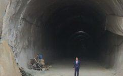 Bursa'nın dağ yolunda tünelin ışığı gözüktü!