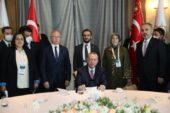 Erdoğan'dan 146. Genişletilmiş İl Başkanları toplantısında Bursa heyetine özel ilgi