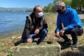 İznik Gölü'nde büyük keşif! 2 bin yıllık…