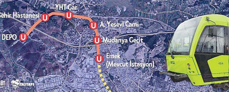 Bursa'da iptal edilen metro ihalesi yenilendi! Bakın kimler ne kadar kazandı?