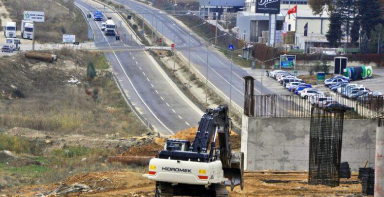 Bursa'da 14 yıldır bitirilemeyen yol yine nazara geldi!