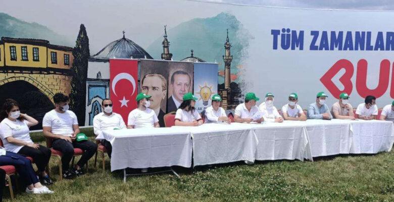AK Parti Bursa'dan çevre duyarlılığı
