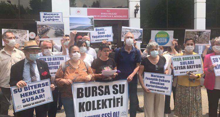 Bursa Su Kolektifi: Doğa, kirliliği suratımıza vuruyor